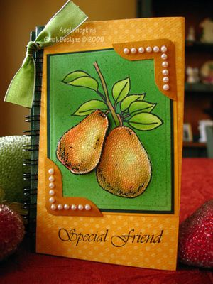 Beaded-pears