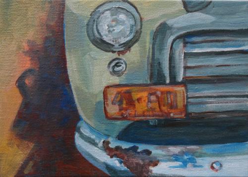 Daily Paint 10 Vintage Car