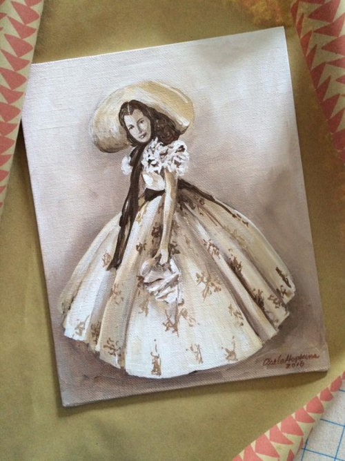 Gone with Wind Art Swap Asela Hopkins